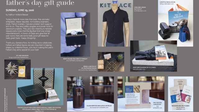 santana row shopping: a father's day gift guide