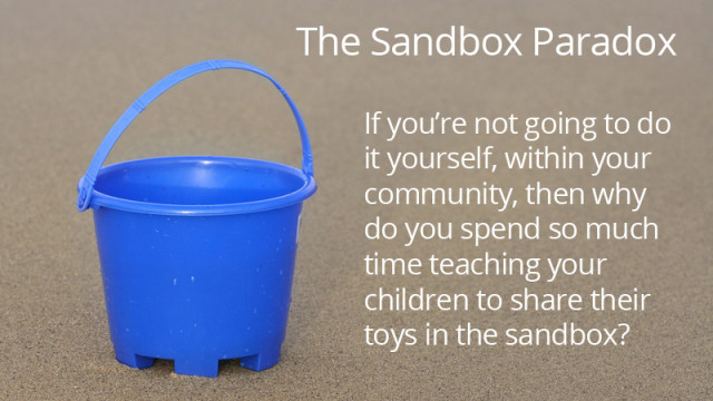 the sandbox paradox